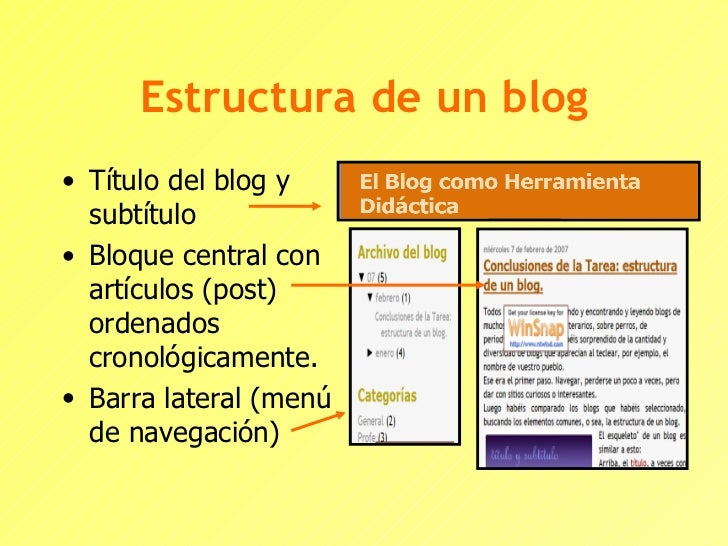 Elementos de un blog for Elementos de un vivero