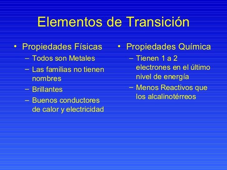 Elementos representativos y de transicion elementos urtaz Choice Image