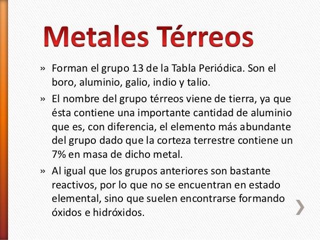 Metales alcalinoterreos y terreos 18 urtaz Gallery