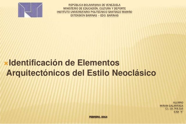 REPÚBLICA BOLIVARIANA DE VENEZUELA MINISTERIO DE EDUCACIÓN, CULTURA Y DEPORTE INSTITUTO UNIVERSITARIO POLITÉCNICO SANTIAGO...