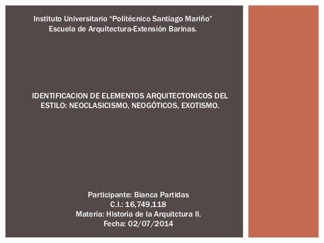 Elementos arquitect nicos del estilo neocl sico bianca for Elementos arquitectonicos pdf