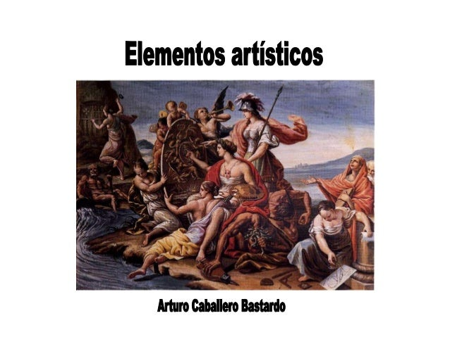 Elementos artísticos     Arturo Caballeo Barrio A