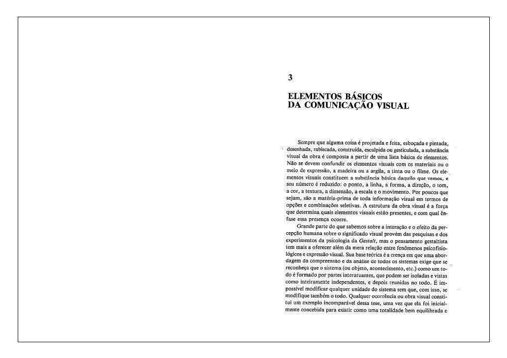 Elementos básicos da comunicacao visual   donis a dondis