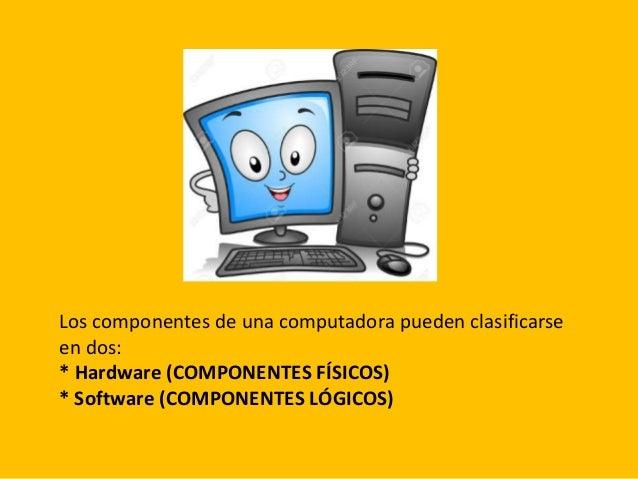 Elementos B Sicos De La Computadora Y Sus Funciones