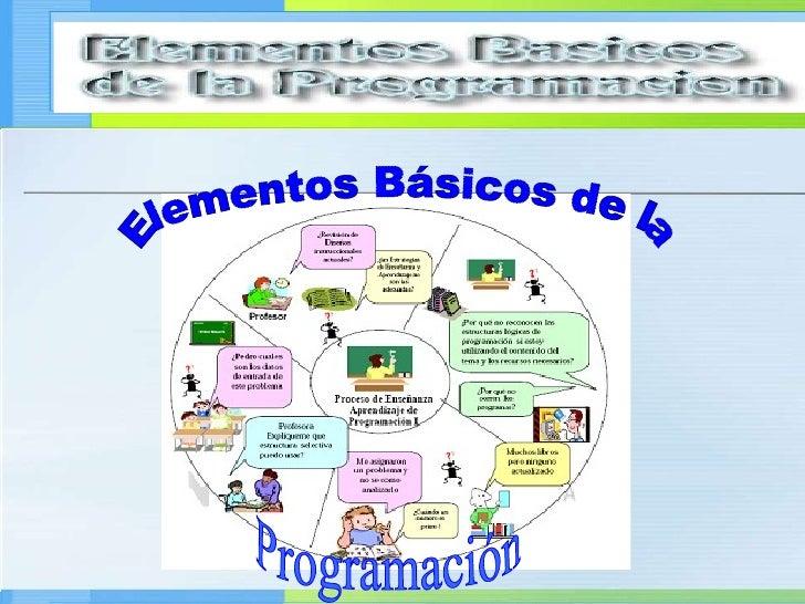 Elementos Básicos de la Programación