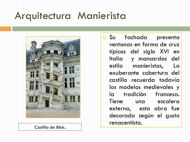 Elementos Caracter Sticos De Las Obras Manieristas 09 11 13