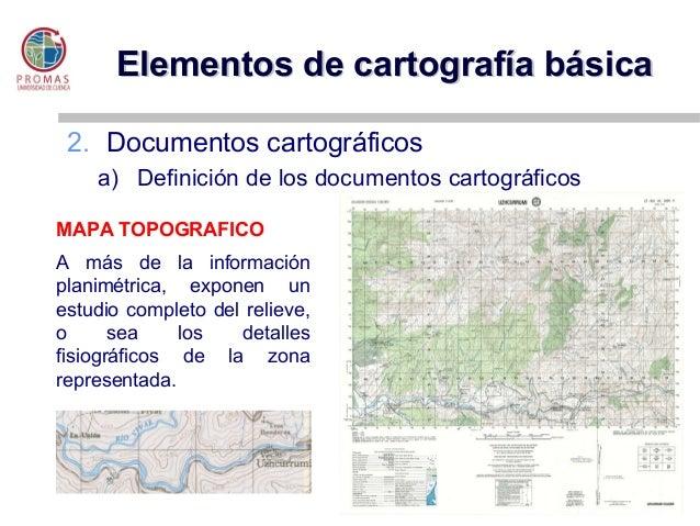 Elementos cartograf a base for Elementos de un vivero
