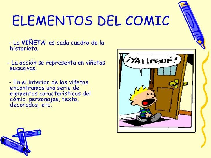 Resultado de imagen de ejemplo de comic primaria
