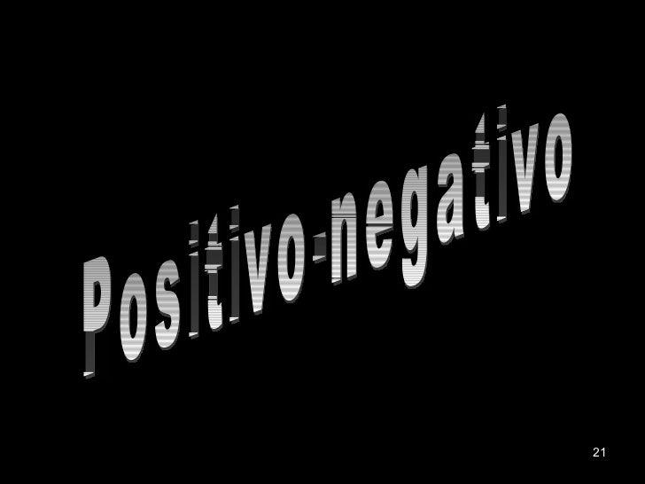 Positivo-negativo