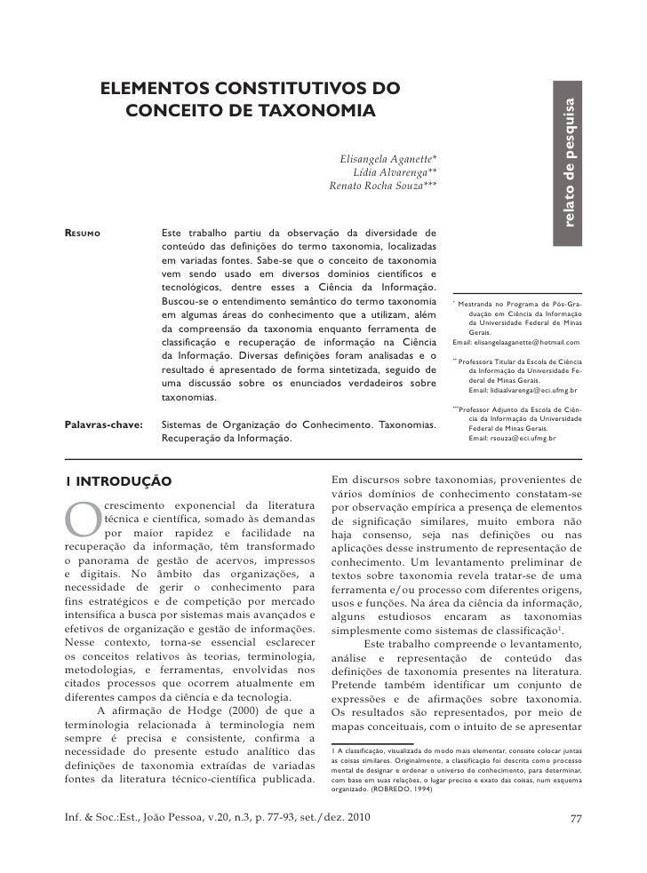 ELEMENTOS CONSTITUTIVOS DO                                                                                                ...