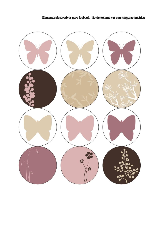 Elementos decorativos lapbook
