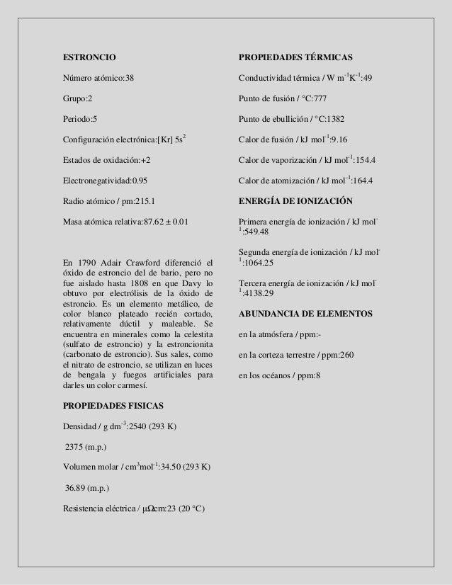 39 - Tabla Periodica De Los Elementos Con Electronegatividad Pdf