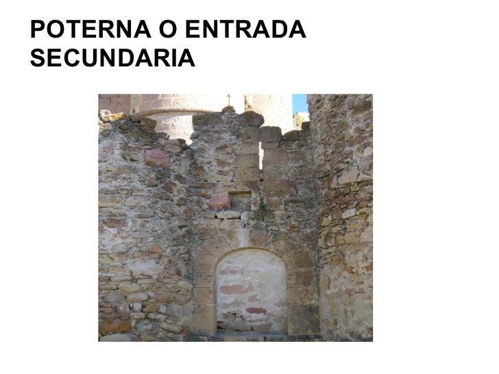POTERNA O ENTRADASECUNDARIA