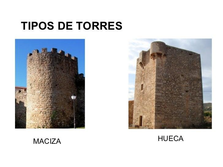 TIPOS DE TORRES MACIZA           HUECA