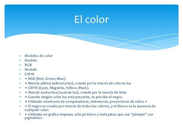 Contenido Elementos del Diseño gráfico Slide 3
