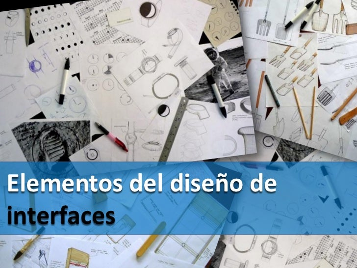 Elementos del diseño deinterfaces