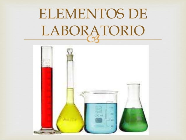 Elementos del laboratorio for Elementos de un vivero