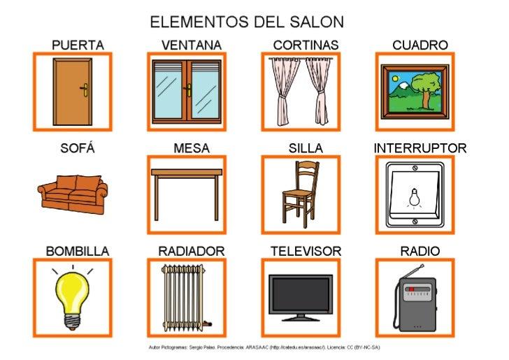 elementos del salon