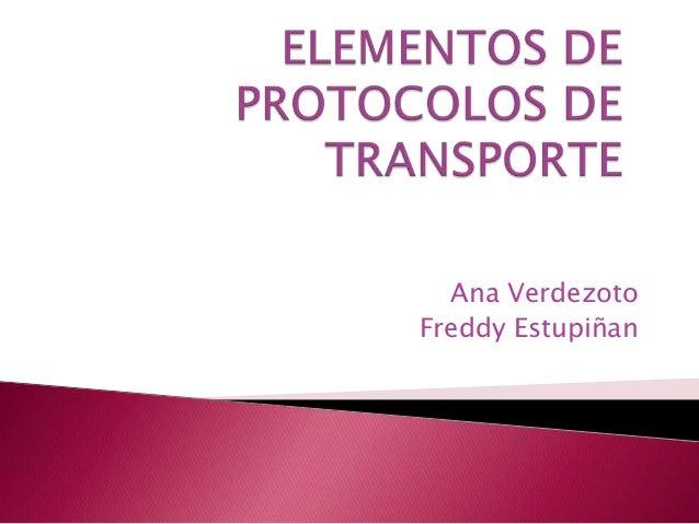 Ana VerdezotoFreddy Estupiñan
