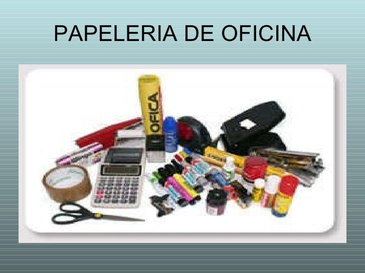 Elementos de recepcion de documentos - Papeleria de oficina ...