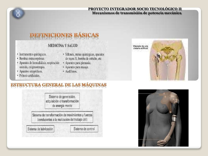 PROYECTO INTEGRADOR SOCIO TECNOLÓGICO II  Mecanismos de transmisión de potencia mecánica
