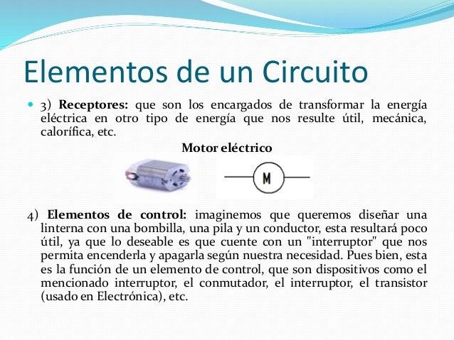 Circuito Que Tenga Un Interruptor Una Pila Y Una Bombilla : Elementos de un circuito