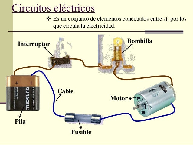 Circuito Yes : Elementos de un circuito