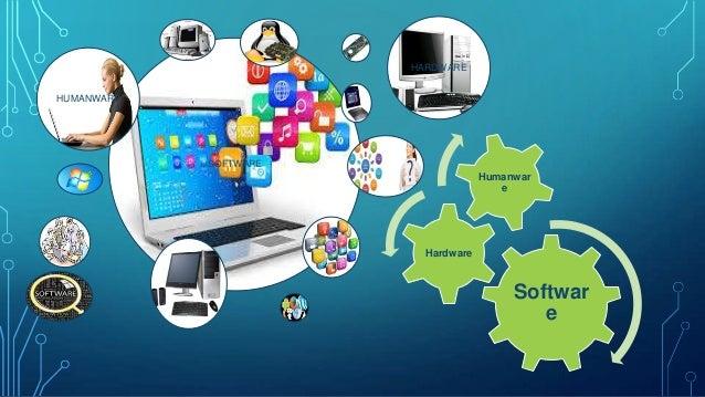Elementos de un sistema de computo (Hardware, software, humanware)