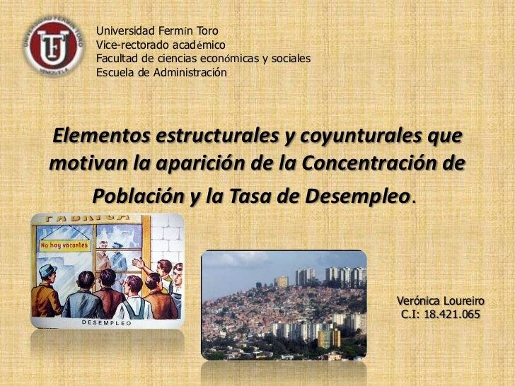 Universidad Fermín Toro<br />Vice-rectorado académico<br />Facultad de ciencias económicas y sociales<br />Escuela de Admi...