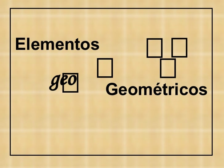    geo   Elementos Geométricos