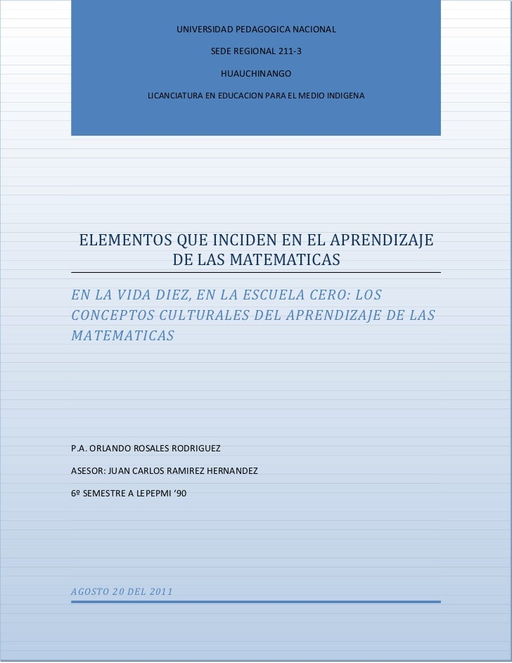 UNIVERSIDAD PEDAGOGICA NACIONAL                             SEDE REGIONAL 211-3                                 HUAUCHINAN...
