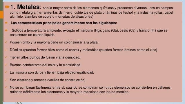 divisin de los elementos metales no metales metaloides 4 - Tabla Periodica De Los Elementos Quimicos Con Electronegatividad