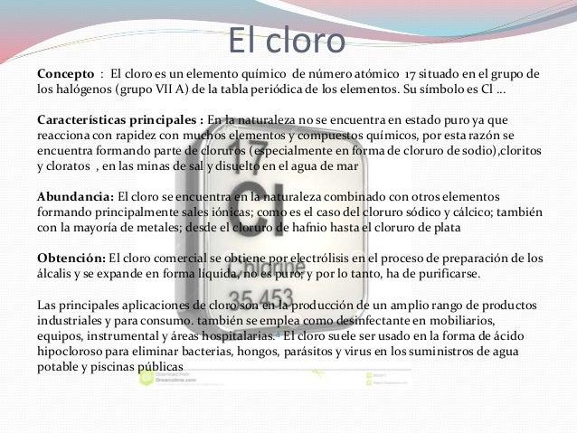Elementos qumicos el cloro y el manganeso el cloro 3 urtaz Choice Image
