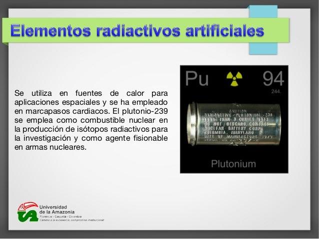 Elementos radiactivos 16 urtaz Gallery