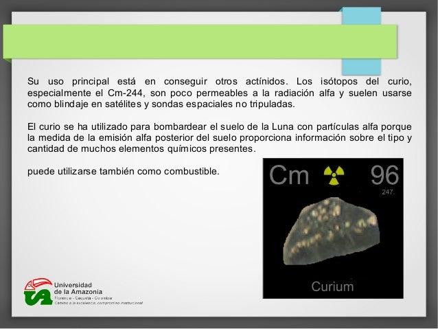 Elementos radiactivos 17 istopos radiactivos urtaz Gallery