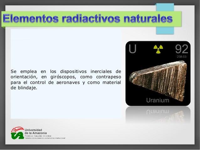 Elementos radiactivos 8 urtaz Gallery