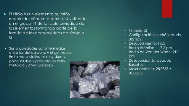 Elementos traza silicio 10 urtaz Image collections
