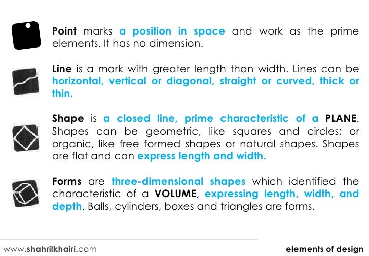 Elements And Principles Of Design Shape : Elements and principles of design