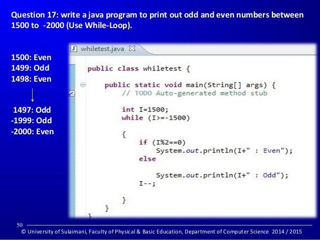 Java programming: Elementary practice