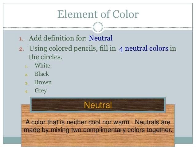 Elements Packet Presentation