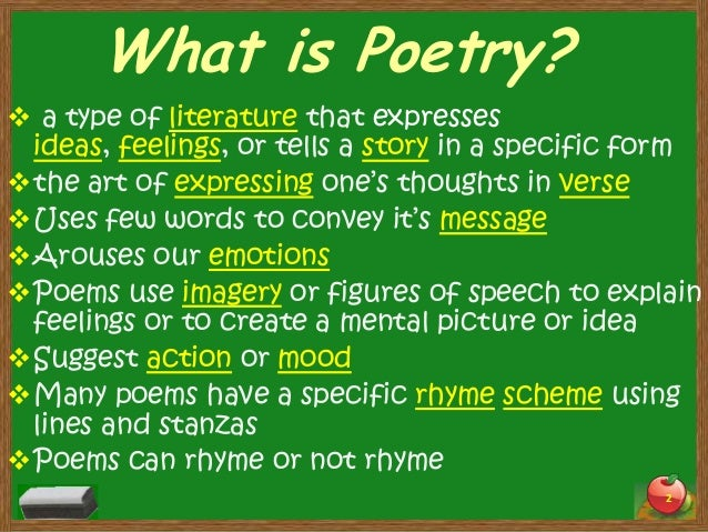 Imagery in poetry