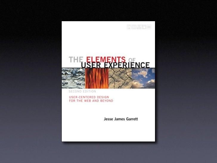 Elements of User Experience by Jesse James Garrett Slide 2