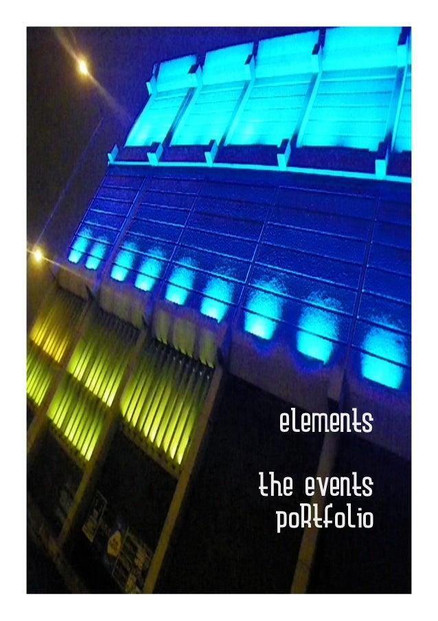 elementsthe events  portfolio