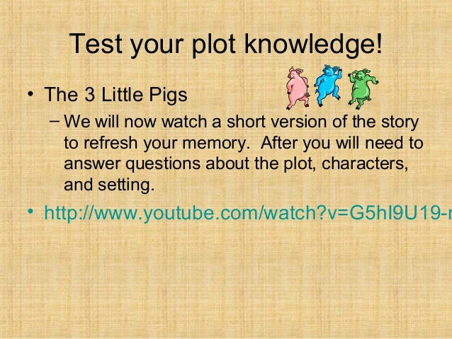 Elements Ofaplotdiagramwith Littlepigs on The Three Little Pigs Plot Diagram