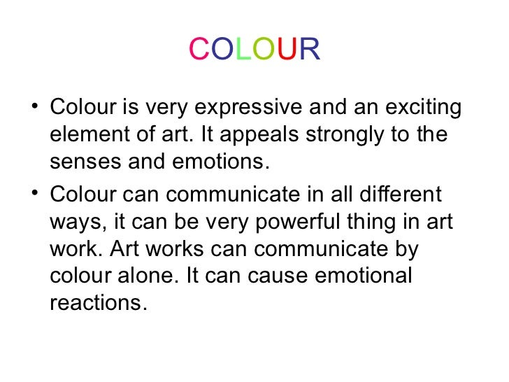 Elements Of Design Color Definition : Elements of design powerpoint