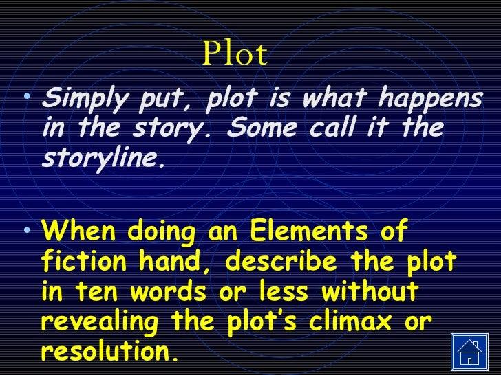 Elements Of Fiction Slide 2