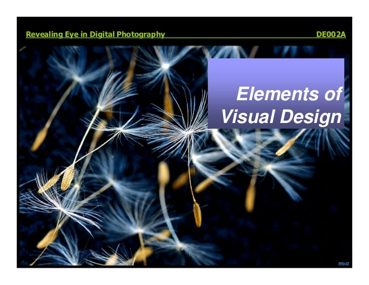 Revealing Eye in Digital Photography             DE002A                                              Elements of          ...