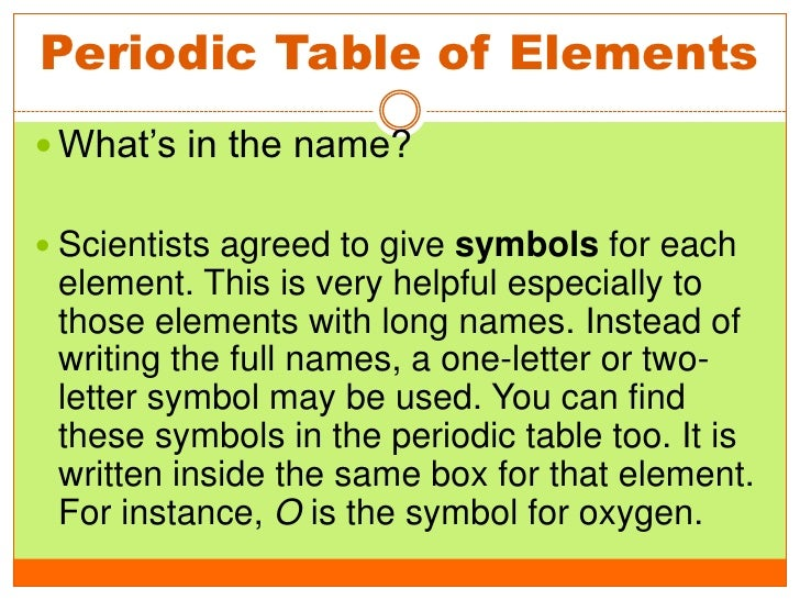 Elements And Compound 2