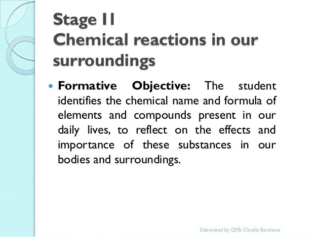 role of chemical reactions in our daily life