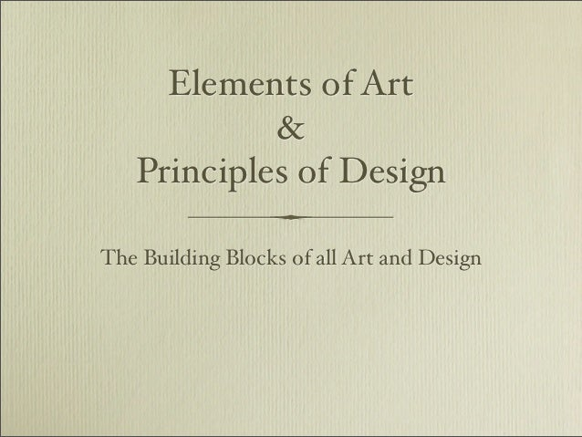 All Principles Of Art : Elements and principles pdf version